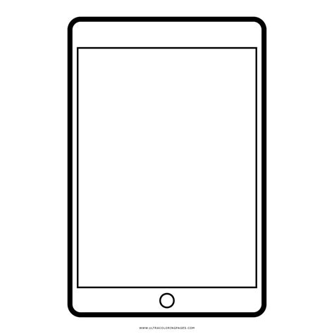 ipad mini desenho  colorir ultra coloring pages