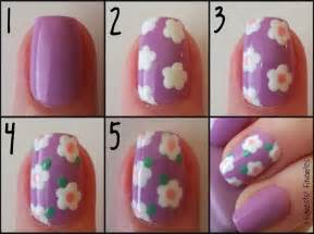 Nail art steps with pictures : Nail art step by how to instructions accent spring