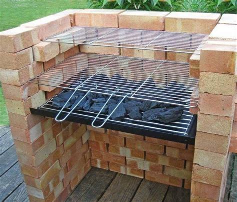 things to make on the grill amazing outdoor patio barbecue grill ideas recycled things