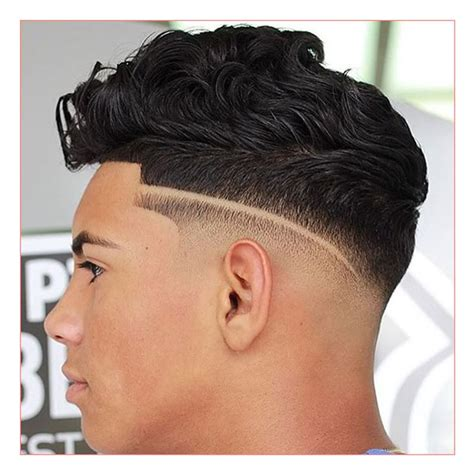 New Hairstyles For Black Men also Low Skin Fade with Line