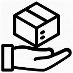 Icon Package Delivery Box Shipping Dispatch Icons