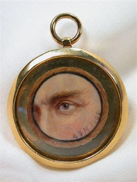 eye miniature portrait gerald sinclair hayward
