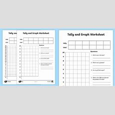 Tally And Graph Worksheet  Worksheet Template Tally