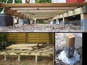 Terrassen unterkonstruktion bauen th26 hitoiro for Terrassen unterkonstruktion