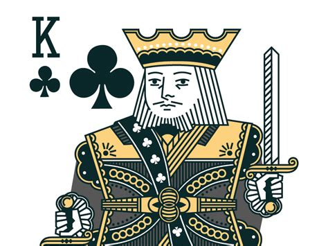 It's also interesting to share some amazing facts about the king cards that will. King of Clubs by Chris Yoon on Dribbble