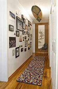 Idee Deco Avec Des Photos : idee deco couloir galerie avec deco couloir etroit et long ~ Zukunftsfamilie.com Idées de Décoration