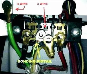 3 Prong Dryer Cord Not Color Coded