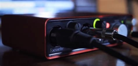 Focusrite 2i2 Best Buy The Best Cheap Audio Interfaces For Home Recording Audio