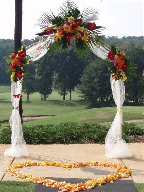 how to decorate an arbor for a wedding wedding arches decoration