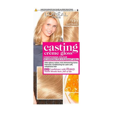At all leading retailers nation wide. L'Oreal Paris Casting Creme Gloss Semi Permanent Hair Dye ...