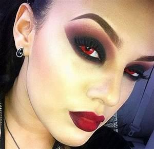 12 Spooky Halloween Devil Makeup Ideas For Girls & Women ...