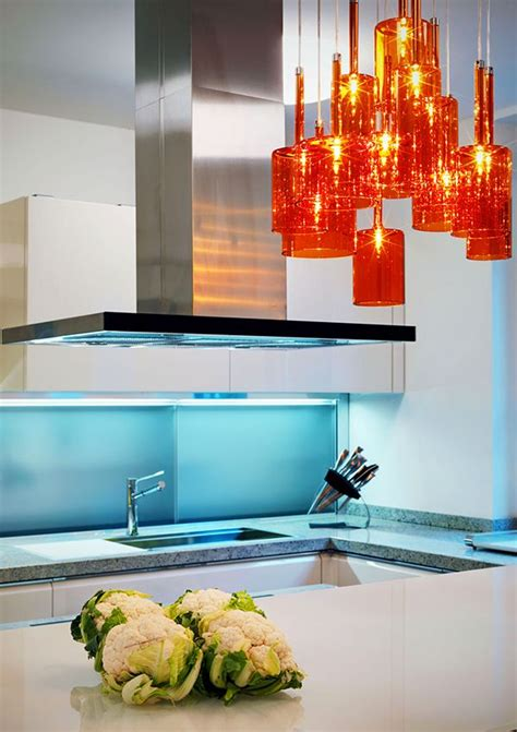 orange pendant lights kitchen top 25 ideas about home bold choices on 3765