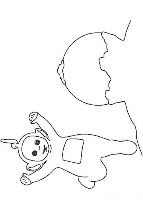 teletubbies drawings coloring