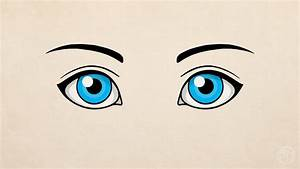 [How To Draw] Simple Eyes - YouTube