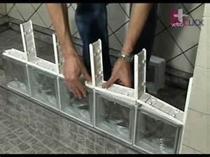 Segunda fila de bloques de vidrio vetroCLICK (8 de 14) YouTube