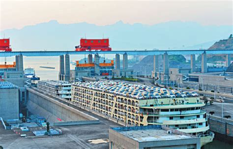 Yangtze Boat Lift by Three Gorges Dam Boosts Economy Society Chinadaily Cn