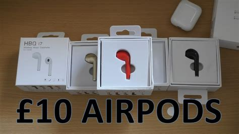 163 10 wireless apple airpods unboxing review hbq i7