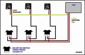 Inexpensive 12v-off-7v Modification Fanbus Wiring Diagram