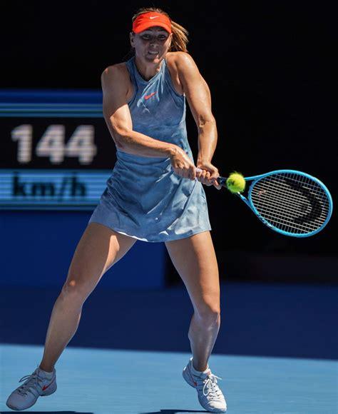 Maria Sharapova Australian Open 01/14/2019