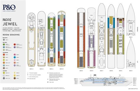 floor plan pacific deck plans p o cruises bluesun cruises