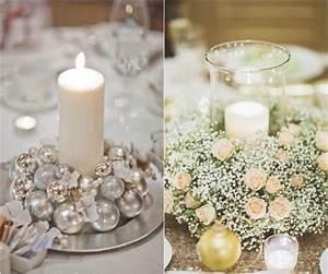 Bougies De Noel : centre de table bougie pour peaufiner la d coration de ~ Melissatoandfro.com Idées de Décoration