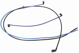 Under Car Diesel Fuel Lines 99-04 Vw Golf Jetta Mk4