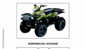 Polaris Sportsman 400-500 2001 Service Manual