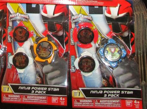 Power Rangers Ninja Steel Ninja Power Star 3 Packs Mystic