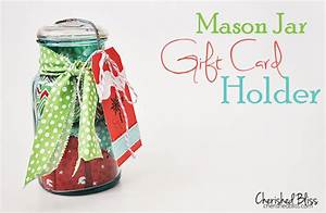 Mason Jar Gift Card Holder {It's all in the wrapping