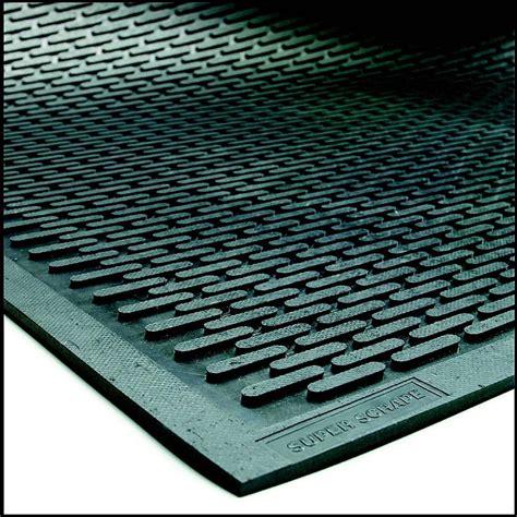 scrape outdoor rubber door mat non slip matting