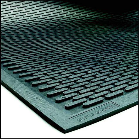 Super Scrape Door Mat   Non Slip Outdoor Rubber Mat