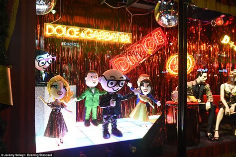harrods unveils  luxurious christmas window display