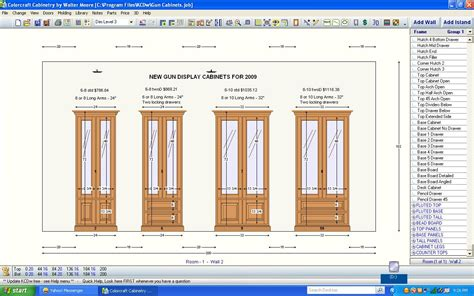 Free Wooden Gun Cabinet Plans by Free Gun Cabinet Design Plans Plans Free