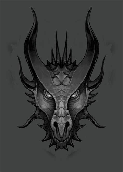 Dragon's head sketch 02 by LawrenceMann on DeviantArt