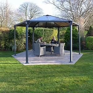 Gartenpavillon Metall Mit Festem Dach : pavillon mit polycarbonat dach tv69 hitoiro ~ Bigdaddyawards.com Haus und Dekorationen