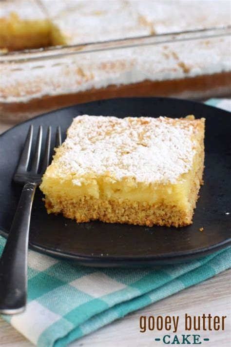easiest gooey butter cake recipe st louis classic