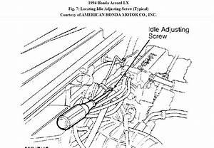 How Do I Manually Lower The Idle Speed On My 1994 Hoda