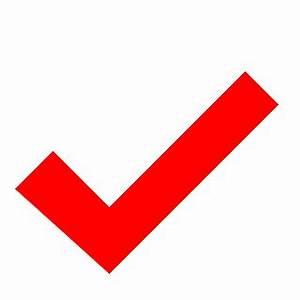 Red Check Mark clip art - vector clip art online, royalty ...