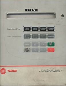 Trane Chiller Main Card With Display Touch Board By Trane