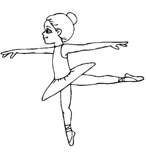 Ballet Kleurplaat by Sport Kleurplaat Ballet Meisje Colering Pages