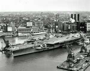 Brooklyn Navy Yard USS Saratoga