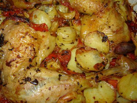 cuisses de poulet croustillantes aux tomates jamie oliver