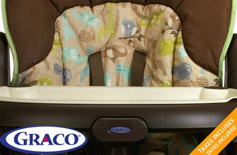 chaise haute graco bleu graco 174 meal time high chair 42 offered on tuango ca