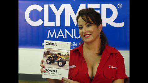 clymer manuals honda trx manual recon manual trxes