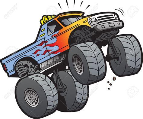 monster trucks races cartoon monster truck cartoon clipart