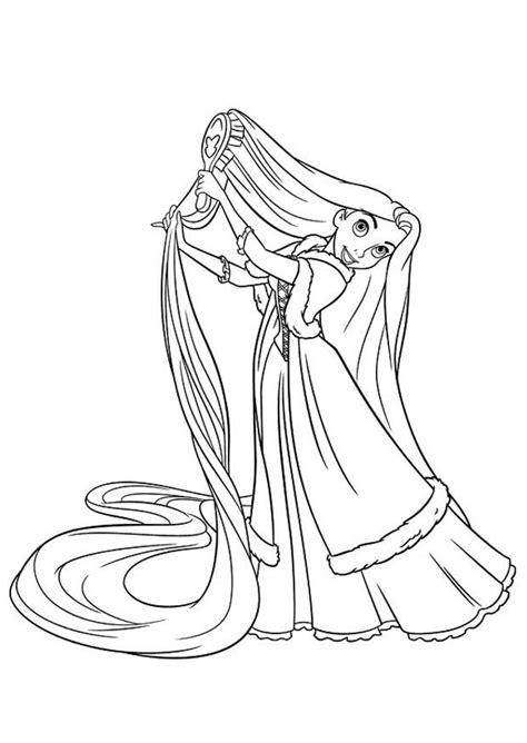 disegno da colorare rapunzel cat