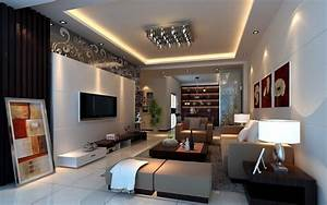 Wall living room designs 3D house, Free 3D house