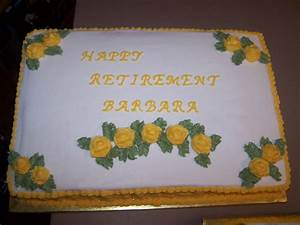 Decorating Tips, Tricks, and Ideas: Retirement Cakes