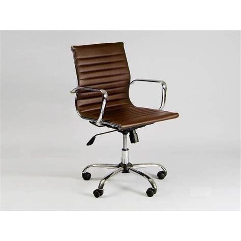 chaises bureau design chaise basse de bureau design marron achat vente