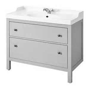 hemnes r 196 ttviken sink cabinet with 2 drawers gray ikea